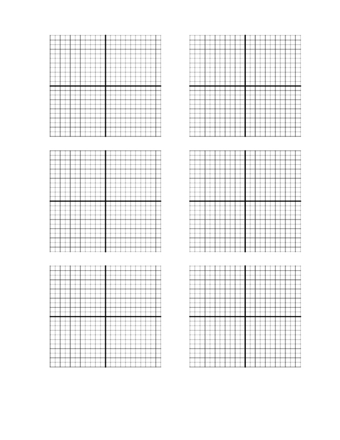 Free Blank Printable Graph Paper With Numbers | Free Graph Paper