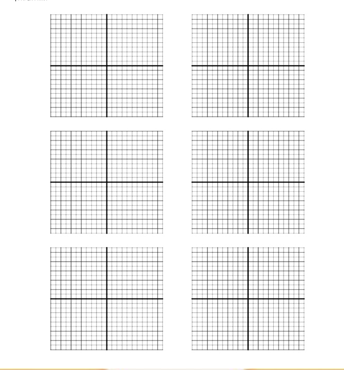5  free sample of coordinate graph paper templates