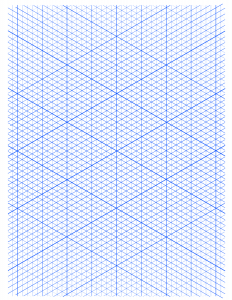 Isometric Graph Paper Dot