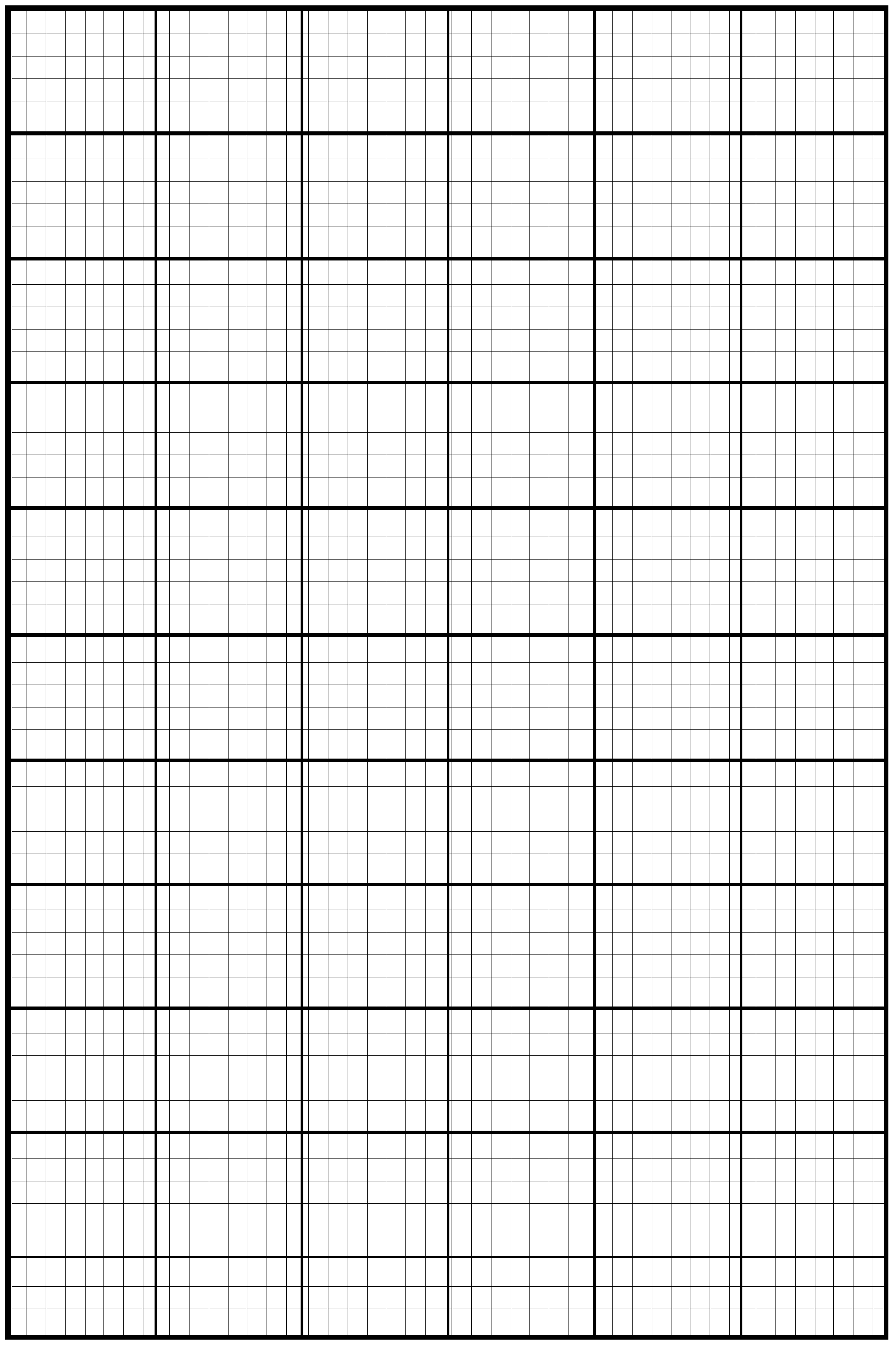 Knitting Pattern Graph Paper