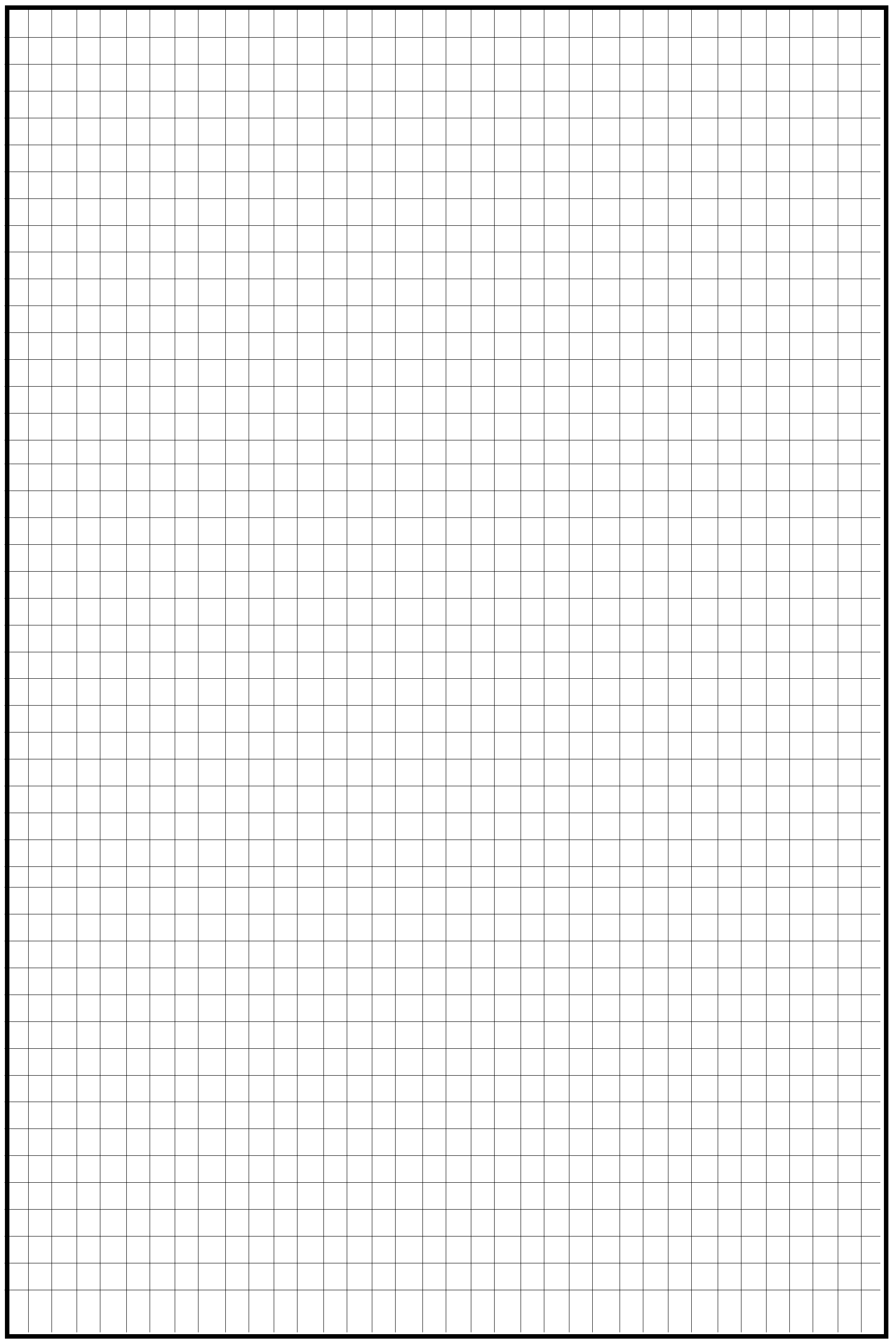 Free Knitting Graph Paper