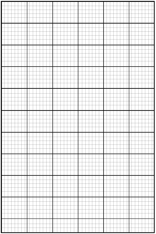Large Graph Paper PDF